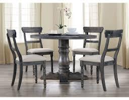 letis weathered grey round table set jpg