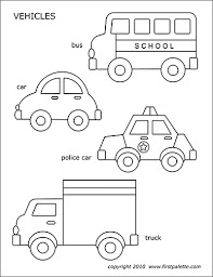 The coloring sheet features a cute car with eyes and lips. Cars And Vehicles Free Printable Templates Coloring Pages Firstpalette Com