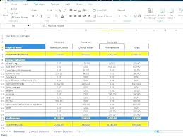 Monthly Home Budget Template Financial Spreadsheet For Home Budget Template Monthly