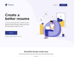 Free Resume Builder And Download Online Free Online Resume Builder Flowcv Webrazzi