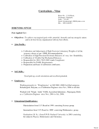 Different Resumes For Different Jobs Different Type Of Resume With Examples Best Of Different Resume 43