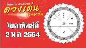 ดวงเด่นรายวัน โหรสมชาย เกียรติ์ภราดร วันอาทิตย์ที่ 2 พฤษภาคม พ.ศ.2564