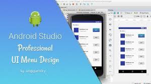 Android Studio Ui Designer Tutorial Modern Ui Design Using Linearlayout In Android Studio Tutorial