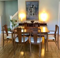 Rare Broyhill Sculptra Dining Table With 6 Kagan Style Etsy