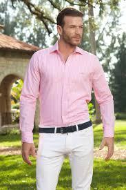 Mens Dress Shirts Pink Shirt With Light Pink Accents Miltiadis Xiii 11