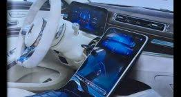 These are the best executive cars on. This Is It All New 2021 Mercedes C Class Interior Revealed With Mega Display Mercedesblog