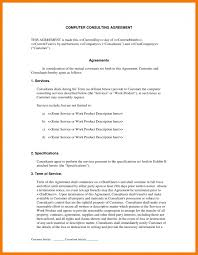Consulting Services Agreement Contract Sample Template Free ...