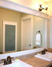 bathroom mirror frame tile. Diy Frame Bathroom Mirror Your Tile