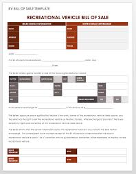 bill of sales template 15 free bill of sale templates smartsheet
