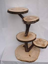 Large Wooden Tree Display Stand Stunning Large Tree Slice Display Stand Rustic Cupcake Stand Country