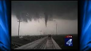 Byron tornado crosses highway in front of David Payne | KFOR.com