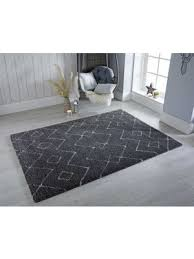 dakari rugs by flair in grey white 160x230cm
