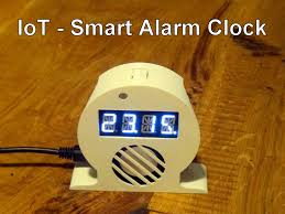 picture of iot smart alarm clock open source project