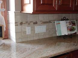 most countertops are made from the same type of material but some countertops are made with dimensional ceramic and stone tiles in lieu of slabs