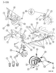 1994 chrysler lebaron gtc lines hoses brake diagram 00000cdw