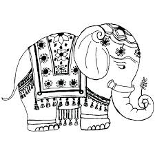 indian coloring pages coloring pictures color pages coloring pages pin elephant coloring page 5 n girl