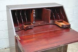 antique drop front secretary desk hinge greenville home trend inside hardware decor 7