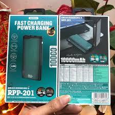 Pin sạc dự phòng sạc nhanh 22.5W PD+QC Remax RPP-102* 10.000mAh (2 cổng sạc  vào micro và type c, 3 cổng sạc ra) chính hãng [BH 6 tháng] bn81.xc23#1G1