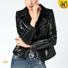 moto leather jacket for women cropped motorcycle jackets las