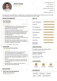 Can You Share A Killer Resume Template Quora