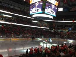 Capital One Arena Section 120 Home Of Washington Capitals