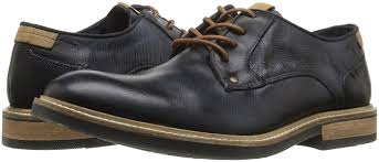 steve madden men s bentley oxford navy leather shoes lace ups steve madden boots