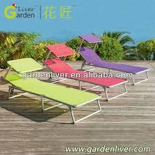 folding portable beach lounge chair with sun canopy 3 15