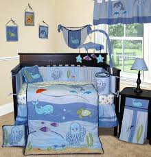 decoration monster inc crib bedding set baby boy sets cribs nursery sea