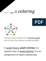 An acyclic coloring of a graph is a coloring in which every two color. Graph Coloring Wikipedia Vertex Graph Theory Time Complexity