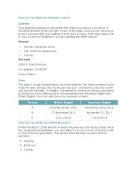 How To Write Informal Letters In English 1