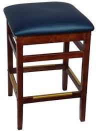 backless wood bar stool rfs nobck bs