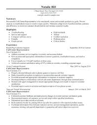 Customer Resume Examples Good Resume Objective Customer Service