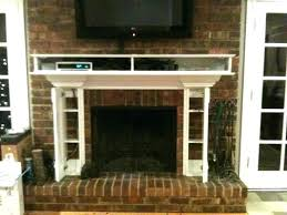 fireplace mantels with tv above mounting above fireplace mantel decoration marvelous flat screen over fireplace ideas