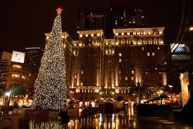 Weekend Picks Holiday Ice Fun San Francisco Tree Lighting And Christmas Tree In San Francisco