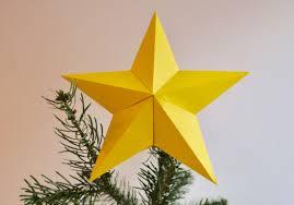 3d Stern Für Die Weihnachtsbaumspitze Falten Hans Natur Blog