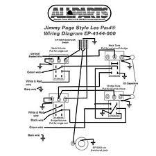 les paul wiring kit wiring kit gibson® jimmy page les paul complete schematic diagram
