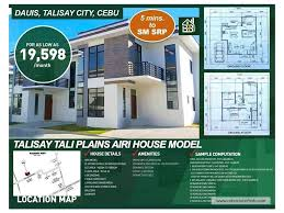 Airi Villa Talisay Tali Plains Airi Model Cebuclassifieds