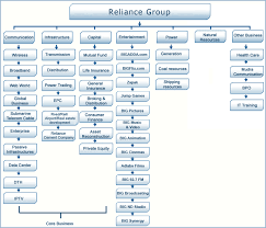 Reliance Communication Organisational Structure College