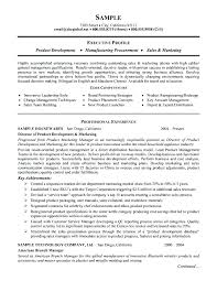 Technical Engineer Resume Sample Technical Marketing Resume Sample