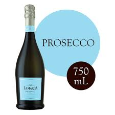 Prosecco Light Blue Label La Marca Prosecco Sparkling Wine 750 Ml Walmart Com