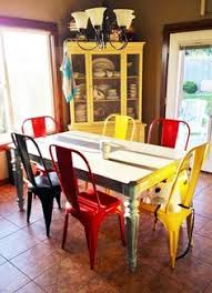 colorful dining chairs with vine dining tables decolover net colored dining chairs painted