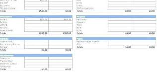 Budget Proposal Template Excel Budget Proposal Template Excel New Excel Home Budget Template
