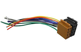 amazon com dkmus universal iso car radio wire cable wiring harness Aftermarket Car Stereo Wiring Harness dkmus universal iso car radio wire cable wiring harness stereo adapter connector adaptor plug power and