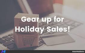 Ecommerce Holiday Sales Calendar Festive Season 2019