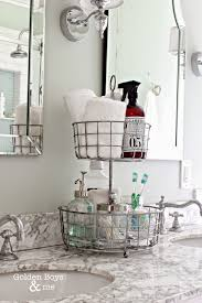 3 tiered wire basket stand for the countertop from golden boye organize bathroom