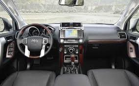 2018 Toyota Land Cruiser Prado Interior - Car Models 2017 – 2018