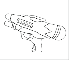 Nerf Coloring Pages 2oclockorg