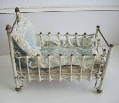 Antique Baby Cribs Antique Miniature German Marklin Antique Doll House Cast Iron