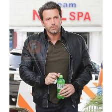 the accountant ben affleck black leather jacket for mens mens leather jackets uk