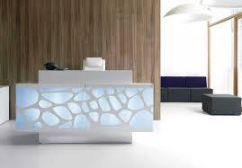 office reception decorating ideas. contemporary desk design, wood reception . office decorating ideas
